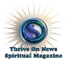 Thrive On News Spiritual Magazine Logo