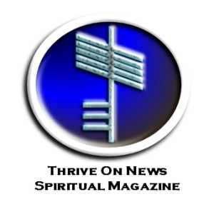 Thrive on news spiritual magazine logo
