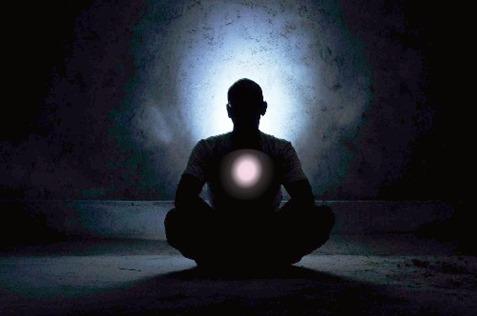 Meditation healing heart