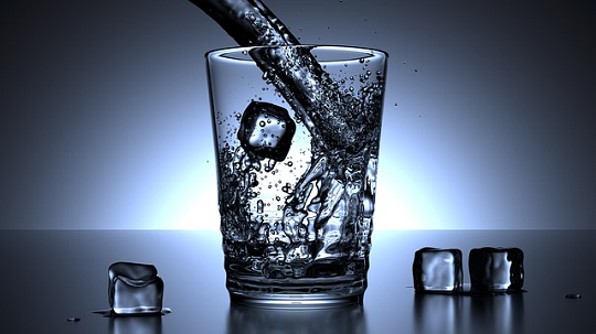 crystal healing water