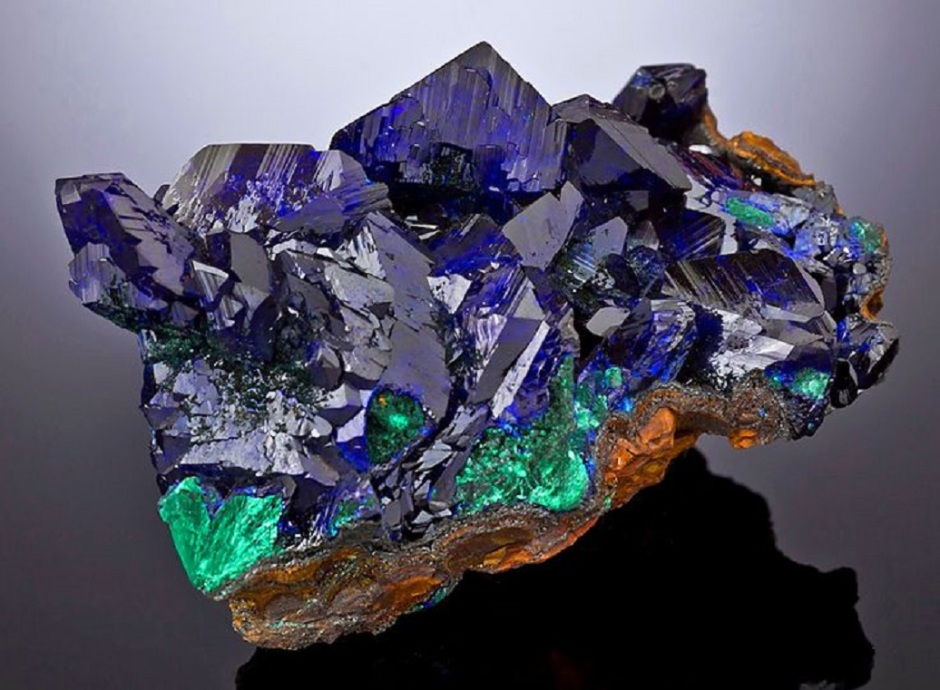 azurite healing stone